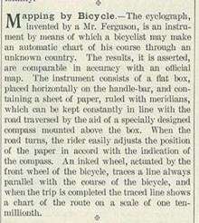 Cyclograph