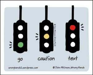 Traffic light, by John Atkinson