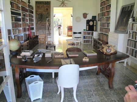 Library and Writing Desk