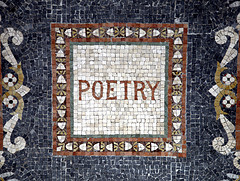 Photo credit: takomabibelot, Poetry, Mosaic Ceiling (Washington, DC), CC BY 2.0