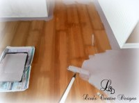 Yes, You Can Paint An Old Laminate Floor - Lisa's Creative ...