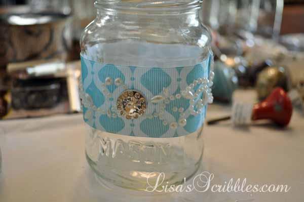 Glass Jar Upcycing012