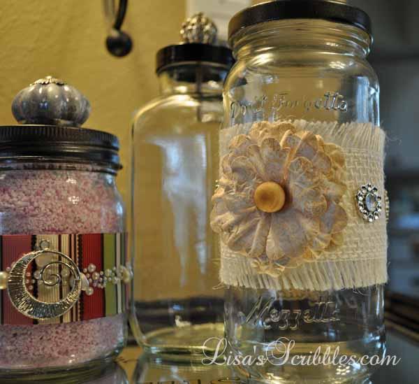 Glass Jar Upcycing026