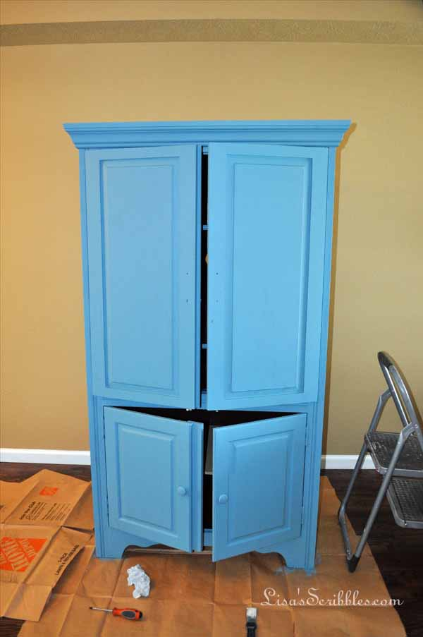 Cabinet and bookshelf006
