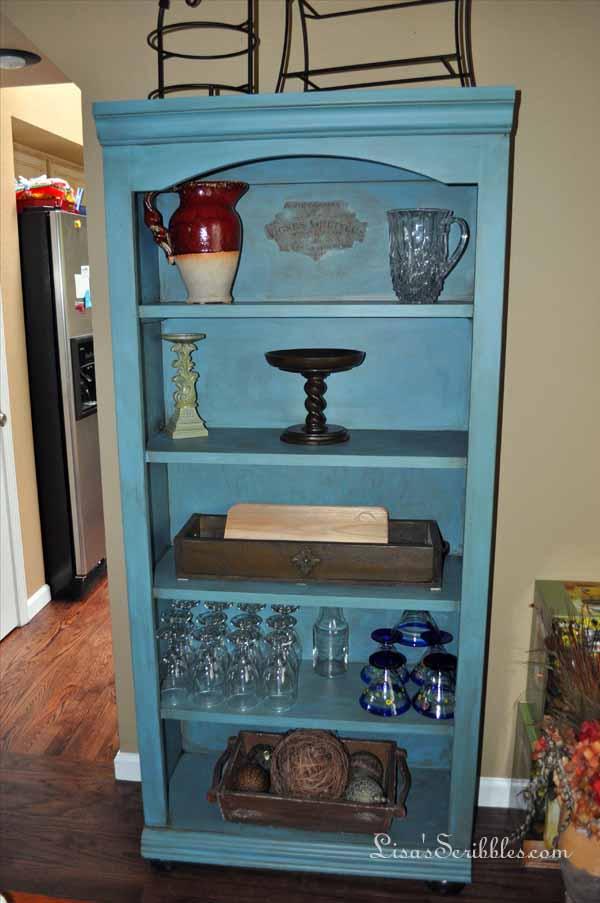 Cabinet and bookshelf008