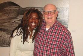 Lisa with John Stone at ERRS Studios.
