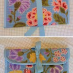 18th c. needlepoint wallet