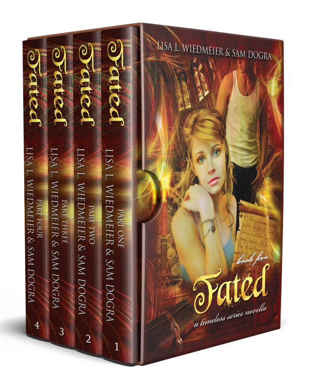 Fated Boxset, Parts 1 – 4 (Timeless #5)