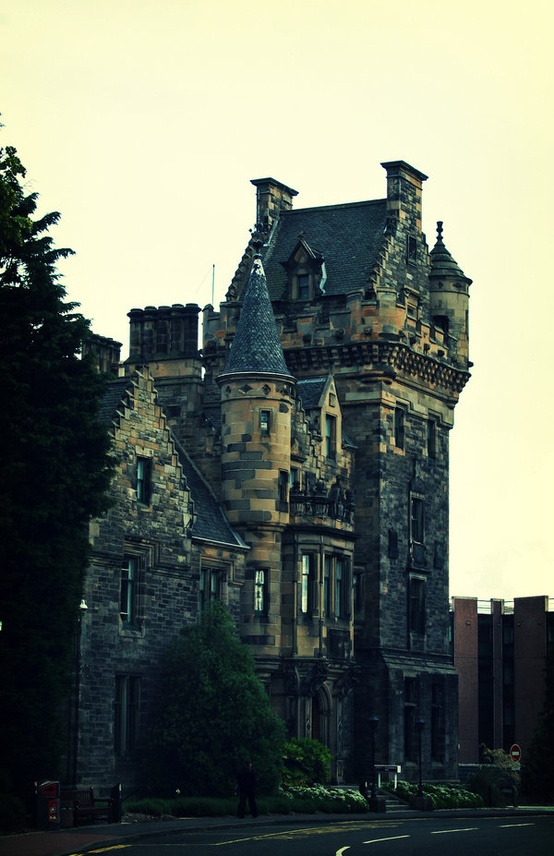 Towers, Edinburgh, Scotland