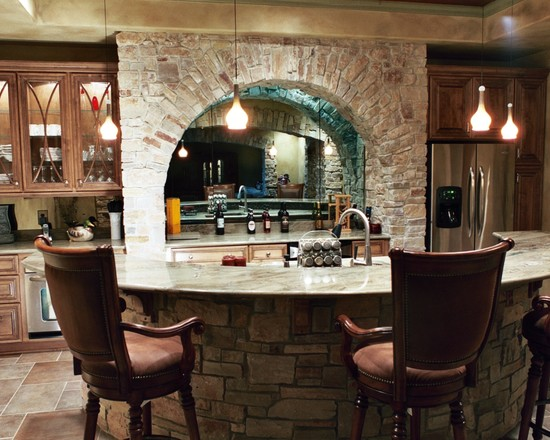 Basement Wet Bar (Indianapolis)