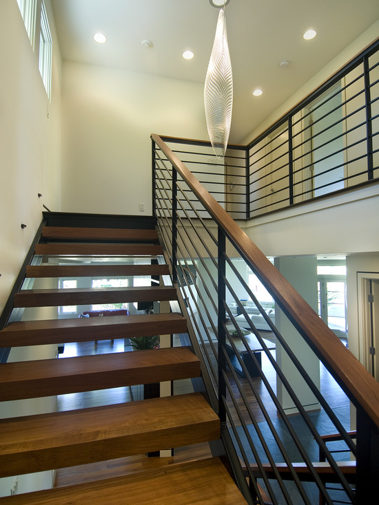 Open Modern Stair (Minneapolis)
