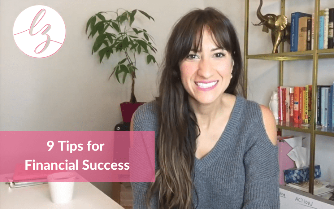9 Tips for Financial Success