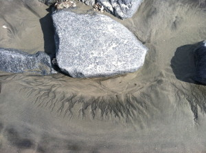 sand patterns photo by Lisa Z Lindahl