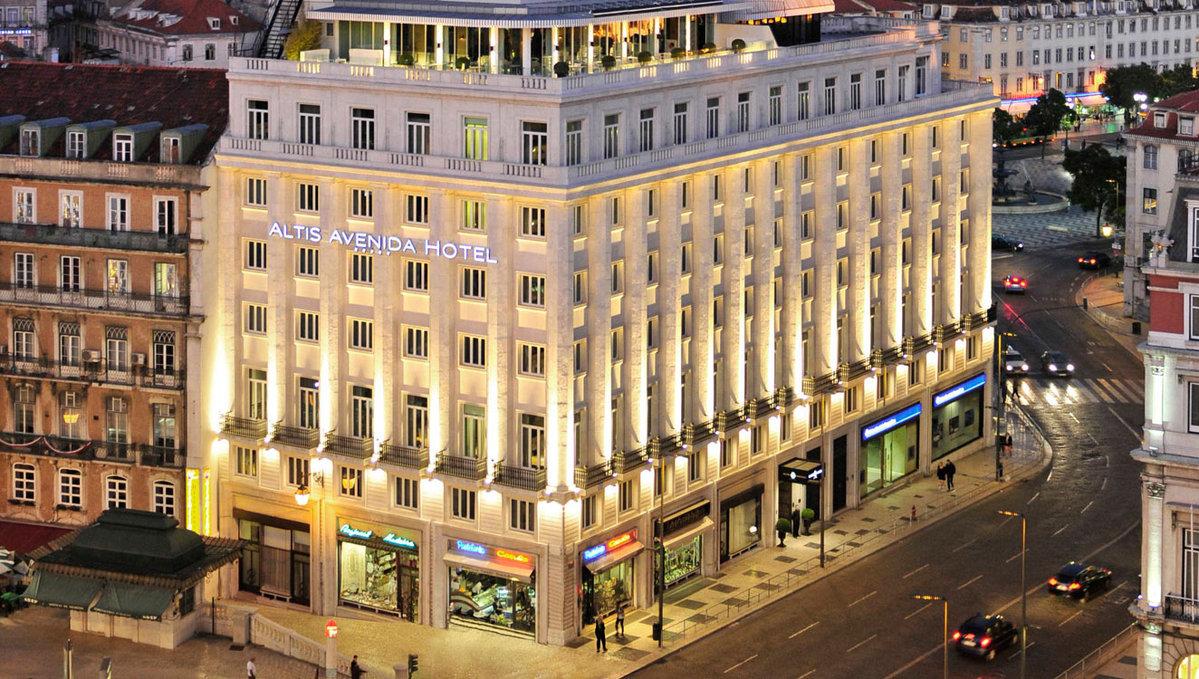 Altis Avenida Hotel - Building in Lisbon city center - 5 stars hotel - Lisbon - Lisbon City Guide