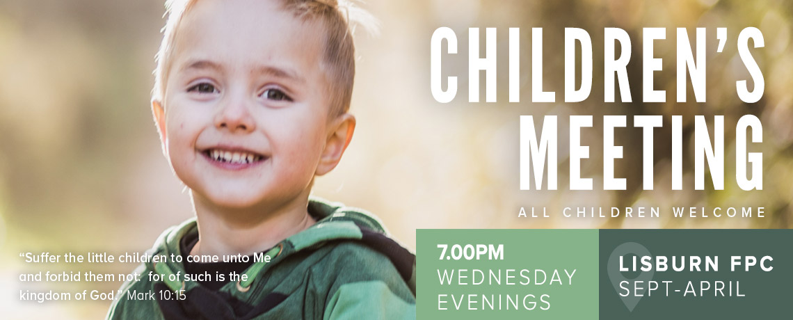 Wednesday Night Children's Meeting