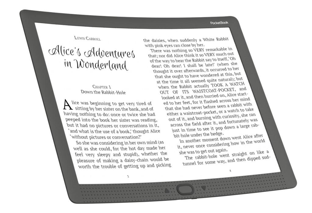 PocketBook CAD Reader : une grande liseuse flexible pour