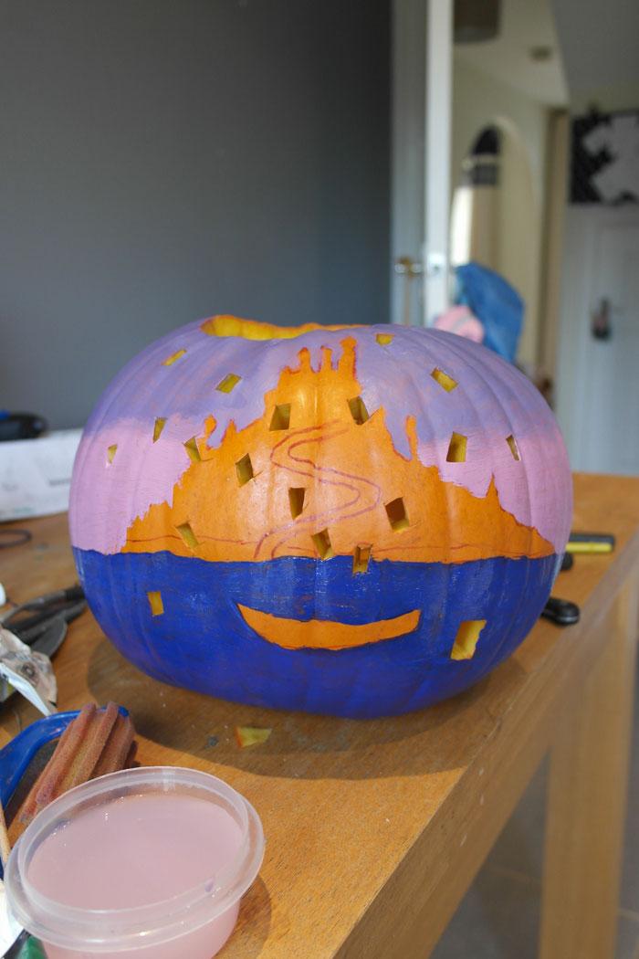making-fairytale-pumpkin