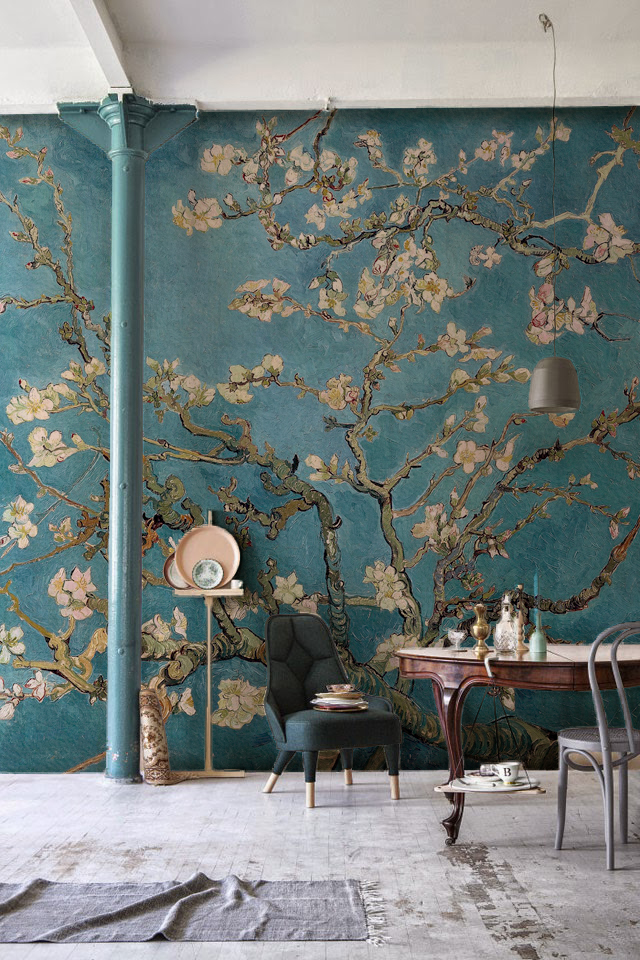 Making an impact with mural wallpaper