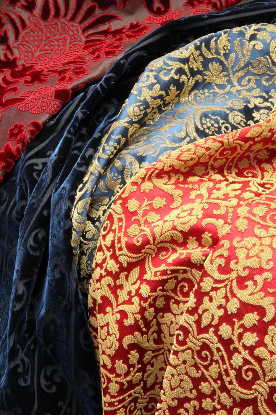 Facilità di pulizia, adeguata combinazione con l'ambiente, ecco i 10 tessuti più usati. Lisio Tessuti Roma