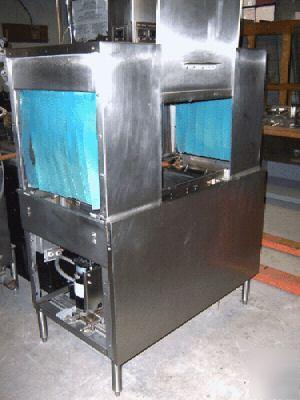 Used hobart c44A conveyor dishwasher 208V 1PH
