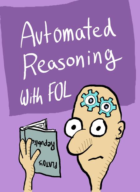 Dibujo humorístico sobre el razonamiento automático