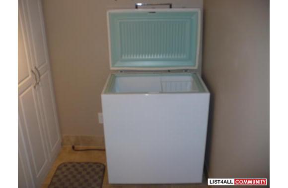 Untitled  Apartment Size Freezer