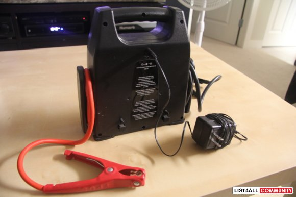 MOTOMASTER MOBILE POWER PACK BATTERY CHARGERBOOSTER