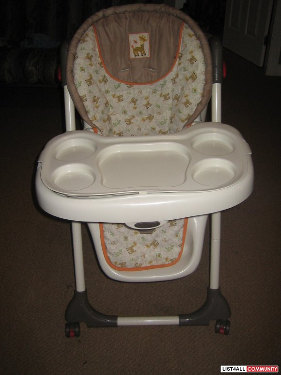 booster seat straps to chair covers ivory baby trend high :: melody list4all