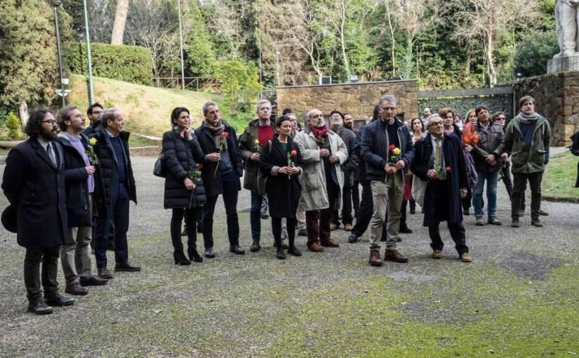 Regionali Marzo 2018 – La Lista Civica Zingaretti Presidente inizia dalle Fosse Ardeatine
