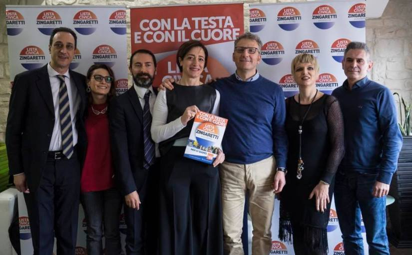 Regionali Marzo 2018 – A Frosinone con la testa e con il cuore