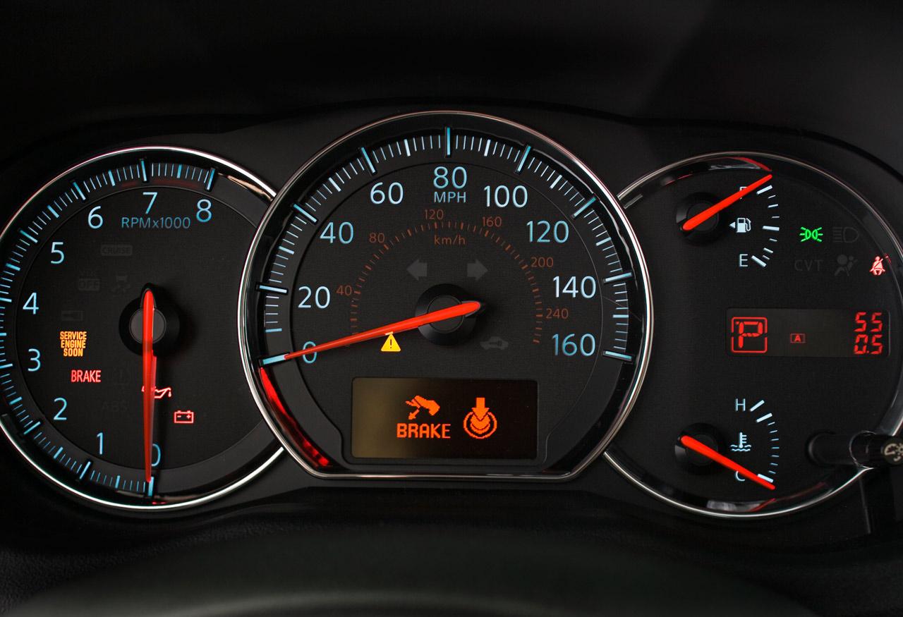 2013 Nissan Altima Dashboard Symbols