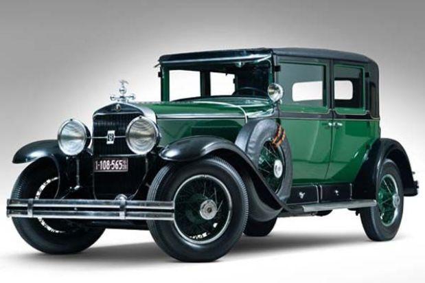 Subastarn el primer carro de Al Capone  Lista de Carros