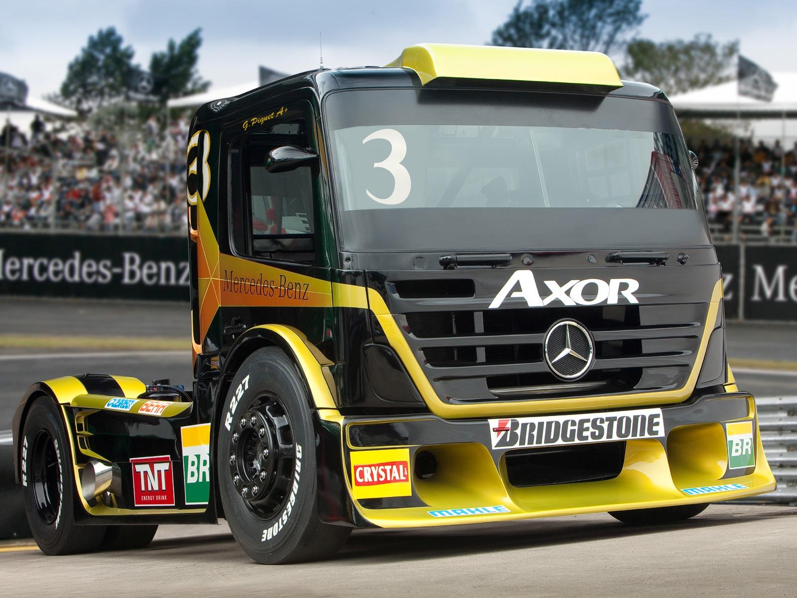 Formula Truck 2  Lista de Carros
