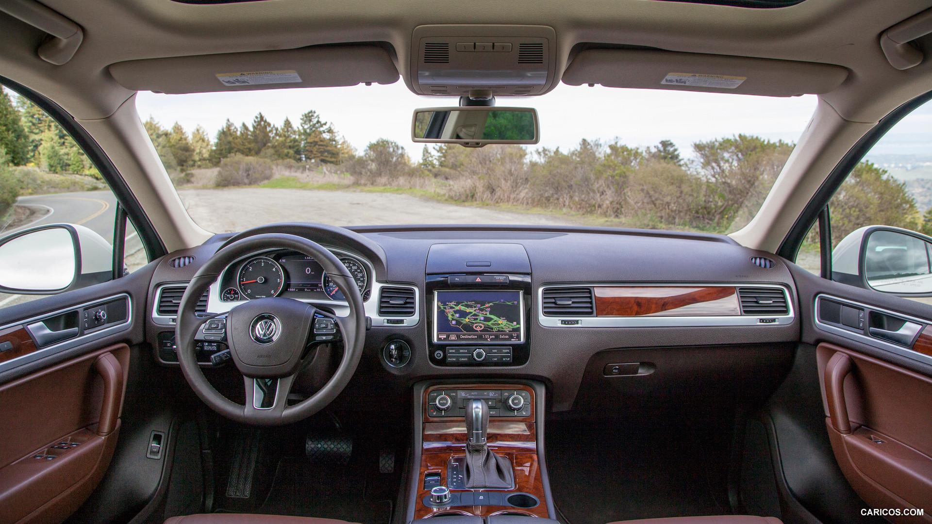 Volkswagen Touareg 2014 lujo tecnologa y mucha distincin  Lista de Carros