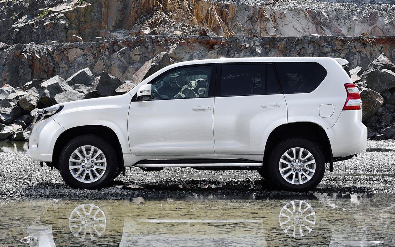 Toyota Land Cruiser Prado 2015 impresionante agresiva y