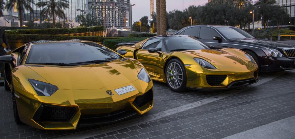 Resultado de imagen de coches alta gama en dubai