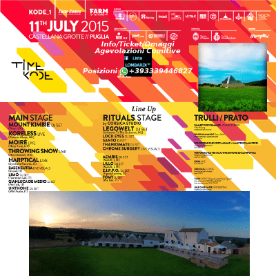 11-07 TIMEKODE Festival 2015 @ Masseria Papaperta