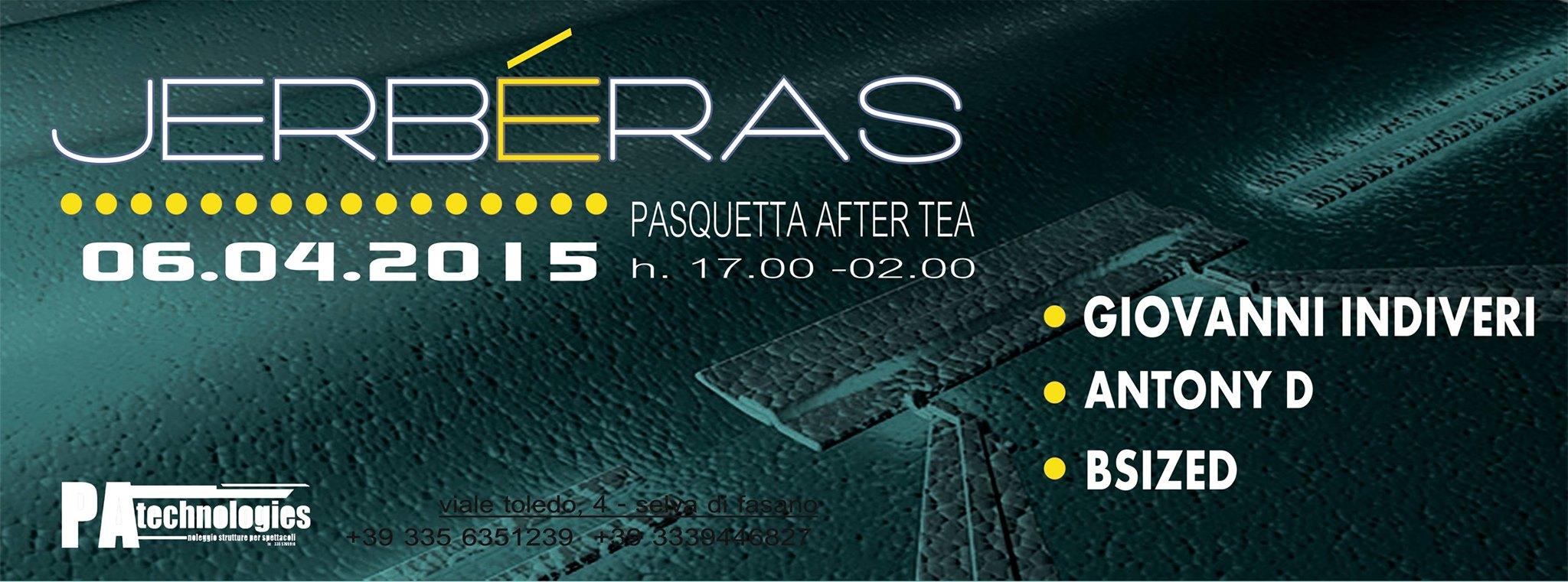 06-04 Pasquetta After Tea al Jerbéras Club