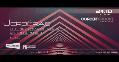 """24.10 """"Concept Groove"""" Opening Winter Session @ Jerbéras"""