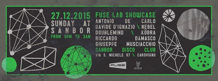 27.12 FUSE LAB SHOWCASE @ SANBOR
