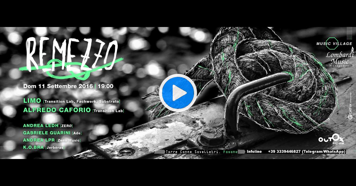 Remezzo @ Music Village - Banner