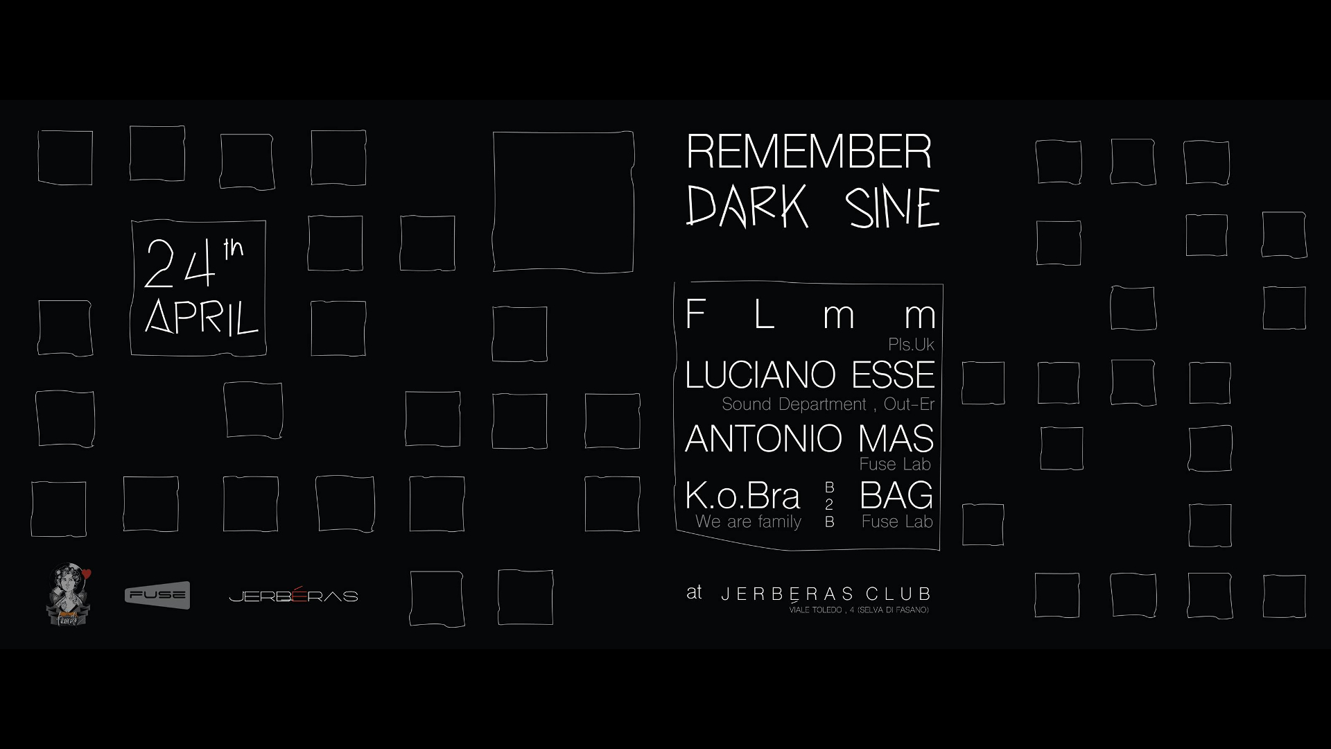 Remember DARK SINE Jerbéras Banner
