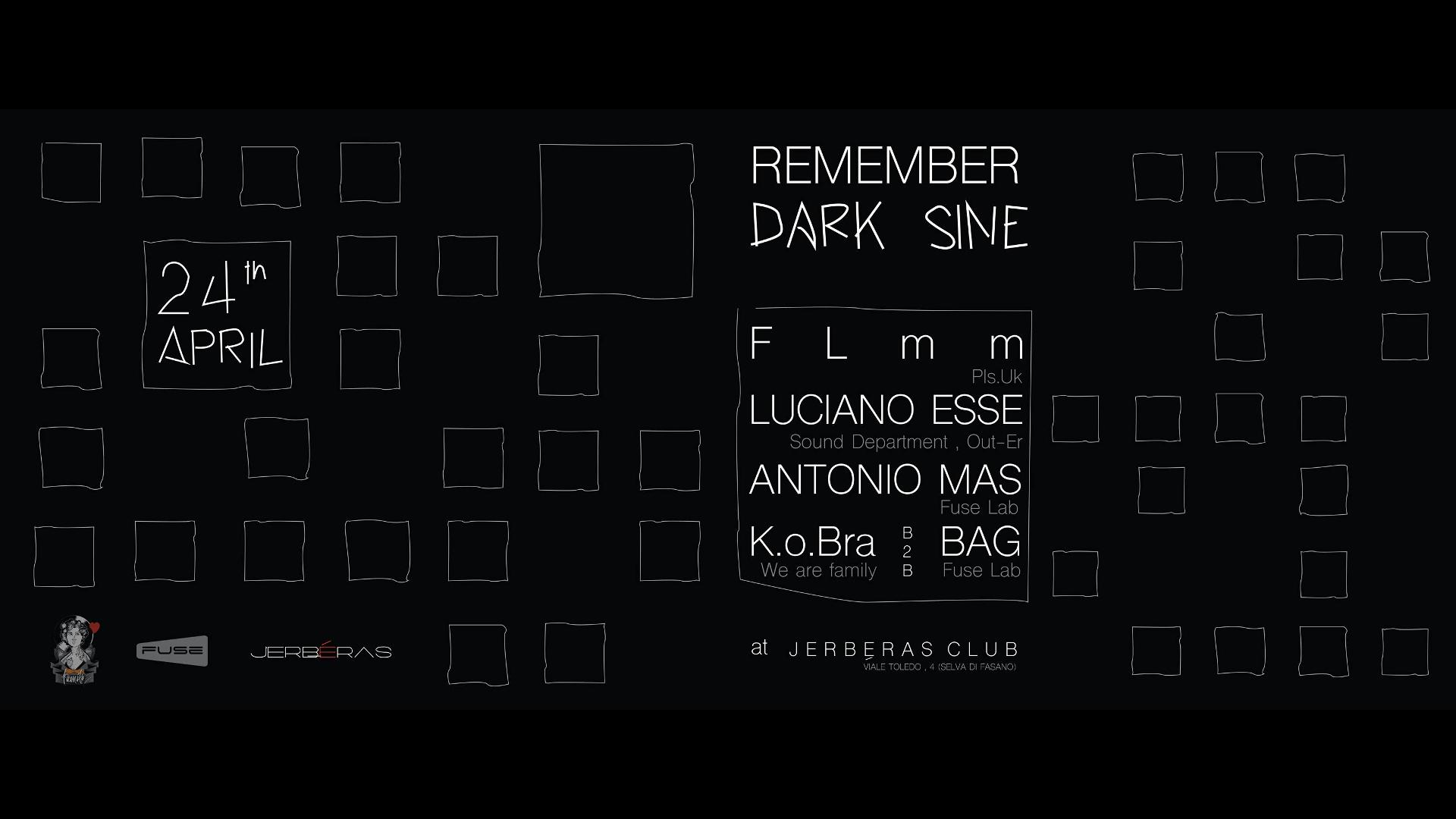 Remember DARK SINE Jerbéras Banner
