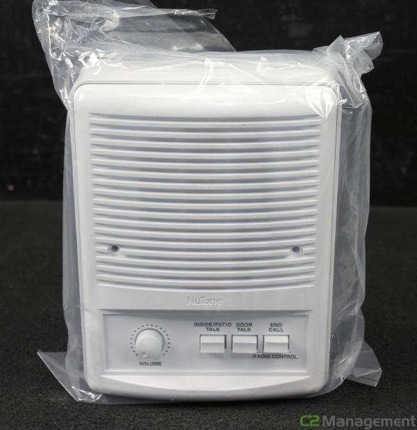 Nutone Isa-339wh Outdoor Intercom Speaker