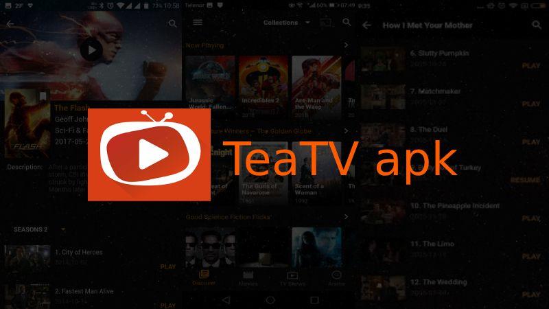 Most Popular TV Box: Teatv Apk For Tv Box