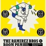 הגרלת כרטיסים למופע היאבקות בין פום והאחים רמירז