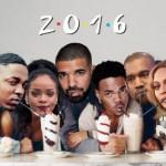 סיכום שנת 2016 בהיפ הופ ומוזיקה שחורה