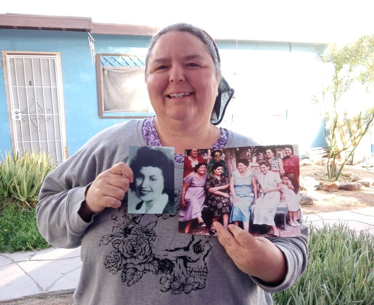 with Trinity bomb harmed family