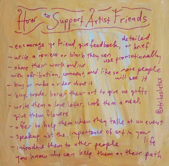 art support