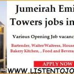 Latest Job Vacancies in Jumeirah Emirates Group 2021| Any Graduate/ Any Degree / Diploma / ITI |Btech | MBA | +2 | Post Graduates  | Dubai-UAE